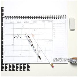 WEEKLY PLANNER A4 - CONFETTI