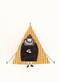 Postkaart Tent