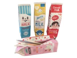 Pen Case Pouch - Milk Caramel