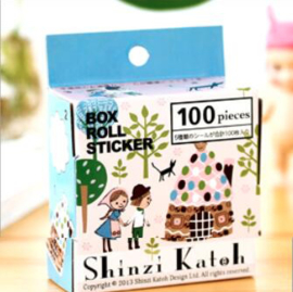 Shinzi Katoh stickers - Hansel Gretel