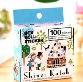 Shinzi Katoh stickers - Hansel Gretel