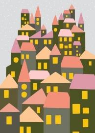 Postcard City Pink