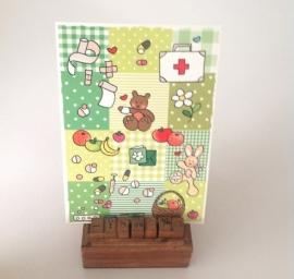 Postkaart beterschap
