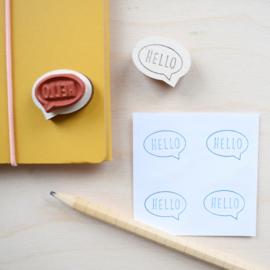 Stempel Hello - Studio Maas