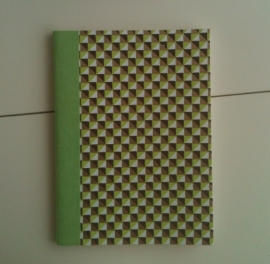 Notebook Green Square