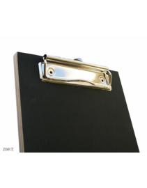 Houten Klembord Zwart - A6