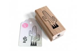 Stamp Cactus Cubes
