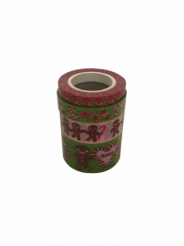 Masking Tape Kerst Set Gingerbread .45