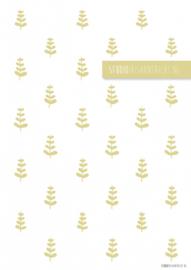 Behangpapier Yellow bush