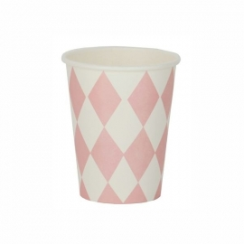 Paper Cups - Pink Diamond