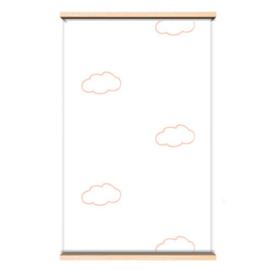 Behangpapier Pink clouds