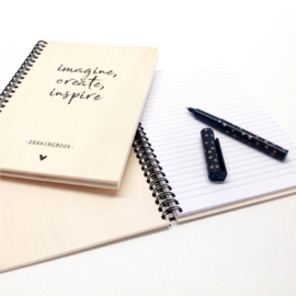 Office Notebook Wood - Do all things