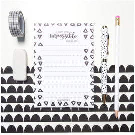 Notepad A6 IMPOSSIBLE