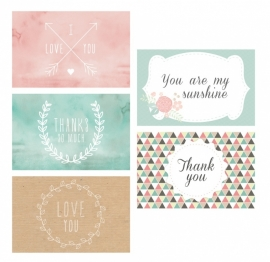 Mini Greeting Cards Dreamkey