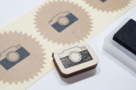 Stempel Fototoestel Studio Maas