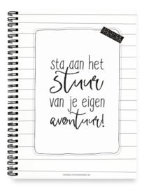 Planboek Sta aan het stuur - hardcover
