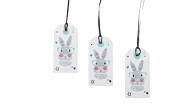 Paper Tags Sparkling Paper Mr Rabbit