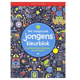 Het Megacoole Jongens Kleurboek