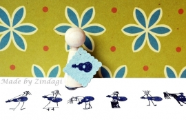 Mini Stempel - Gitaar