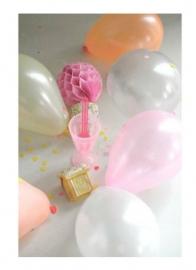 XXS Tiny Pearl Balloons Pink