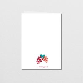 Greeting card Christmas Mouse