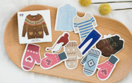 Stickerset - Winter