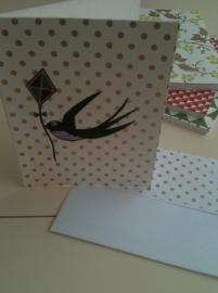Card Dragon Bird