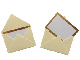 Mini envelope - Ivory.11