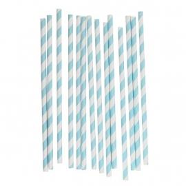 Paper Straws - Babyblue