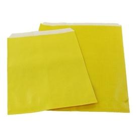 Sunny Yellow Kraft Bag 17x25cm