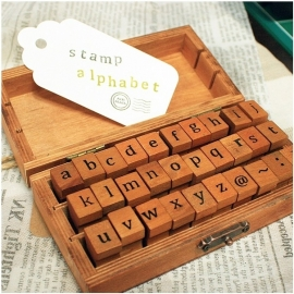 Stamp Box ABC Lowercase