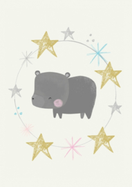 Vicky Riley | Bear with stars