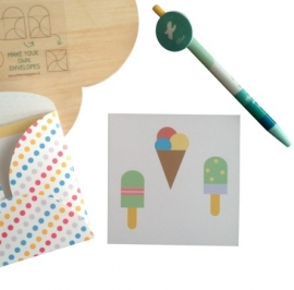 Minikaartje - ijsjes