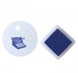 Ink pad - royal blue