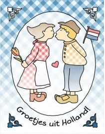 Groetjes uit Holland - kus