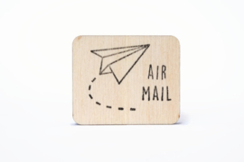 Stempel Air Mail - Studio Maas