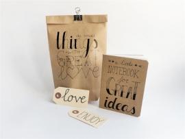 Handlettering DIY Packet