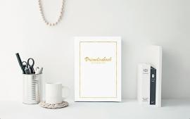 Vriendenboek met een gouden randje