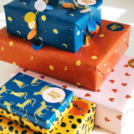 Wrapping paper set Lovely