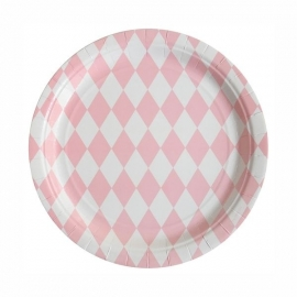Paper Plates - Pink