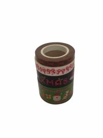 Masking Tape Kerst Set Xmas Kerstman .43