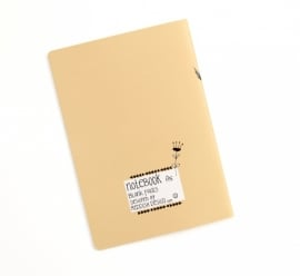 """Notebook A5 """"enjoy the ride"""""""