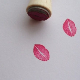 Mini stamp - Kiss