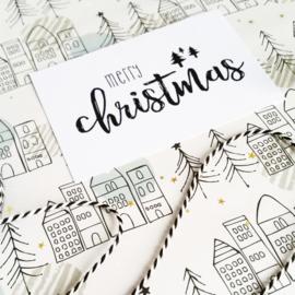 Kado labels - merry christmas