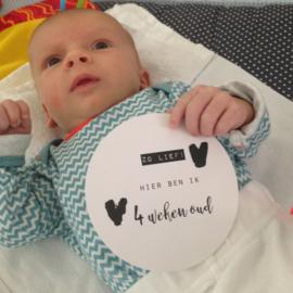 JAHOEEEE - Baby's selfie kaarten