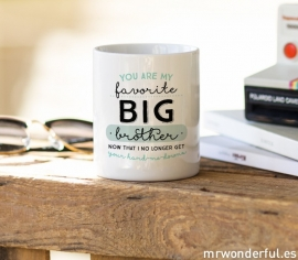 Mug Favorite Big Brother