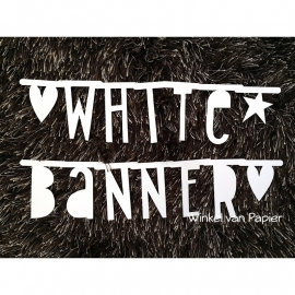 Wordbanner White