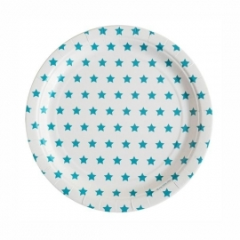 Paper Plates - Turquoise