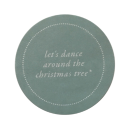 Stickers Let's dance around the christmas tree