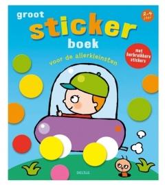 Groot stickerboek voor de allerkleinsten